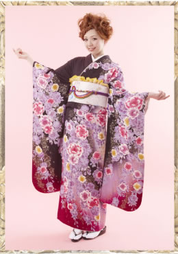 大阪での成人式着付け ヘアセット|美容室フロート(float)