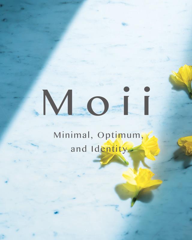 『Moii(モイ)』肌と心まで満たし、気分を上げてくれるアイテム